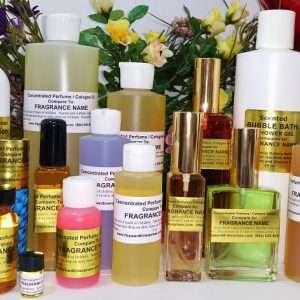 Perfume Body Oils